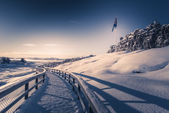 Islande, bleue et blanche