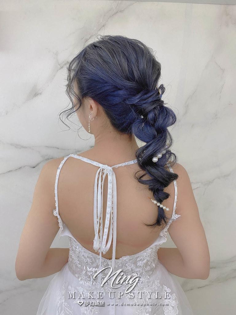 【新秘羽寧】新娘造型創作 / 甜美編織