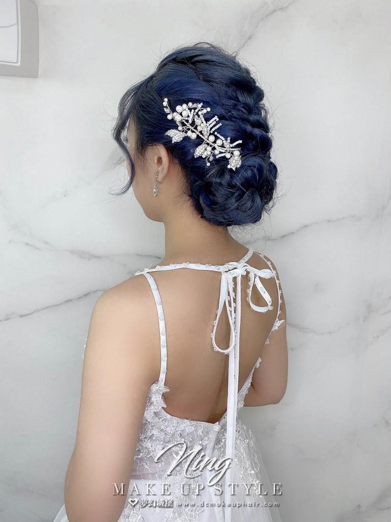 【新秘羽寧】新娘造型創作 / 編織盤髮