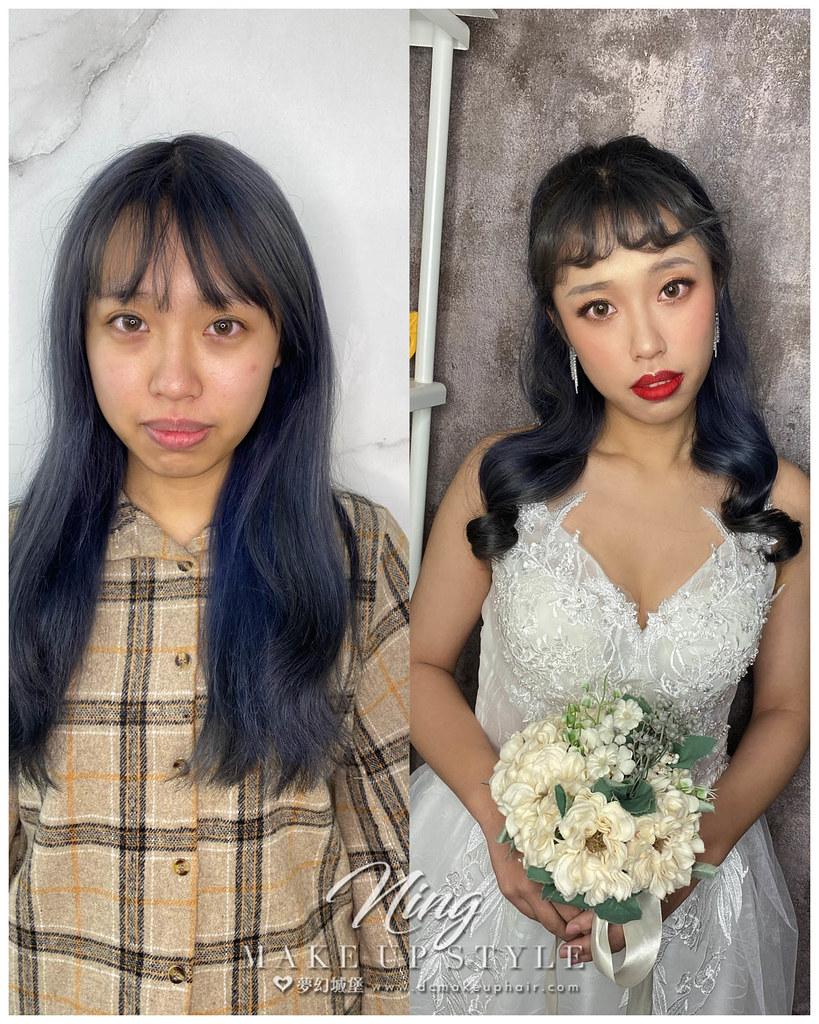 【新秘羽寧】新娘造型創作 / 韓系公主頭