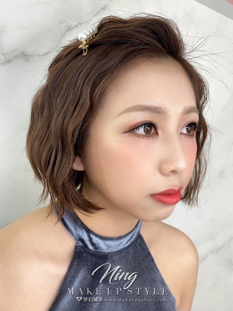 【新秘羽寧】新娘造型創作 / 短髮-水波紋