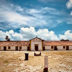 Inside fort Orange