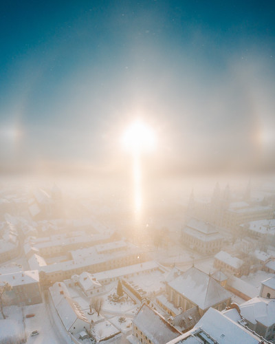 Light | Kaunas old town aerial #38/365