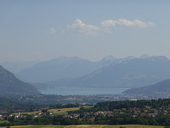 Lac d'Annecy @ Belvédère @ Crêt de la Dame