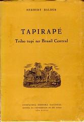 Tapirapé : tribo tupi no Brasil central (Baldus 1970)