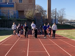 First Track practice of the season!