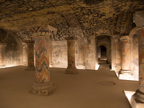 La crypte romane