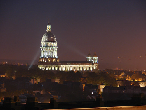 cathedrale nuit boulogne sur mer