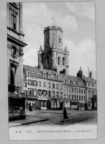 Beffroi en 1900 carte postale JM Perin