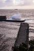 Rough Sea at Dysart Harbour