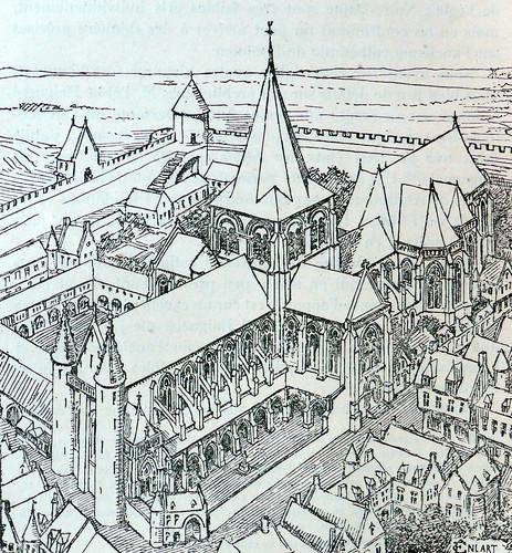 Restitution de l''glise Notre-Dame … la fin du 16e siŠcle par Camille Enlart