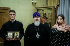 08 февраля 2021, Воспитанник духовной школы получил архипастырское благословение на брак
