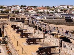 Cannons at Castle Cornet - Saint Peter Port, Guernsey
