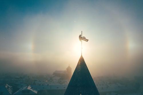 Light | Kaunas aerial
