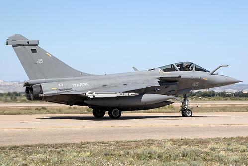 45 / French Navy / Dassault Rafale M