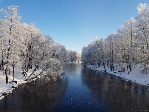 February in Sestroretsk