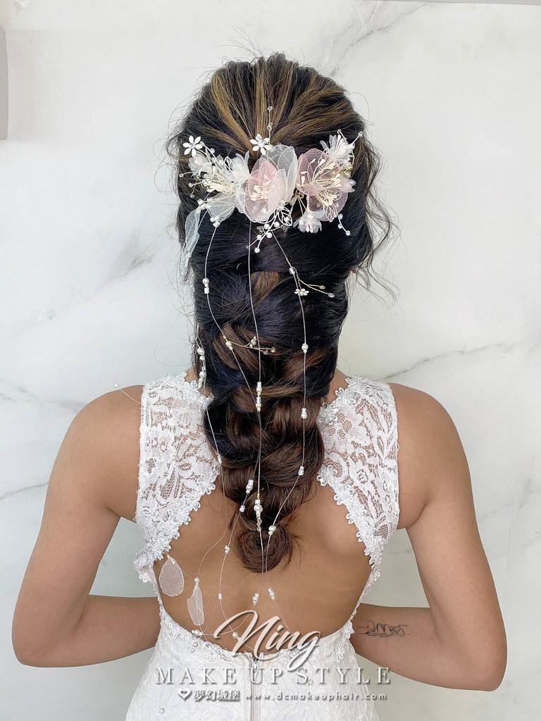 【新秘羽寧】新娘造型創作 / 優雅編髮