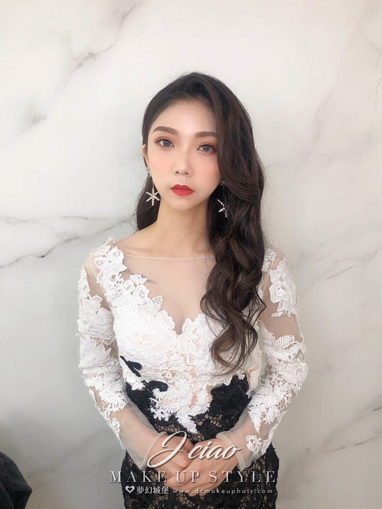 【新秘婕喬】新娘造型創作 / 優雅放髮