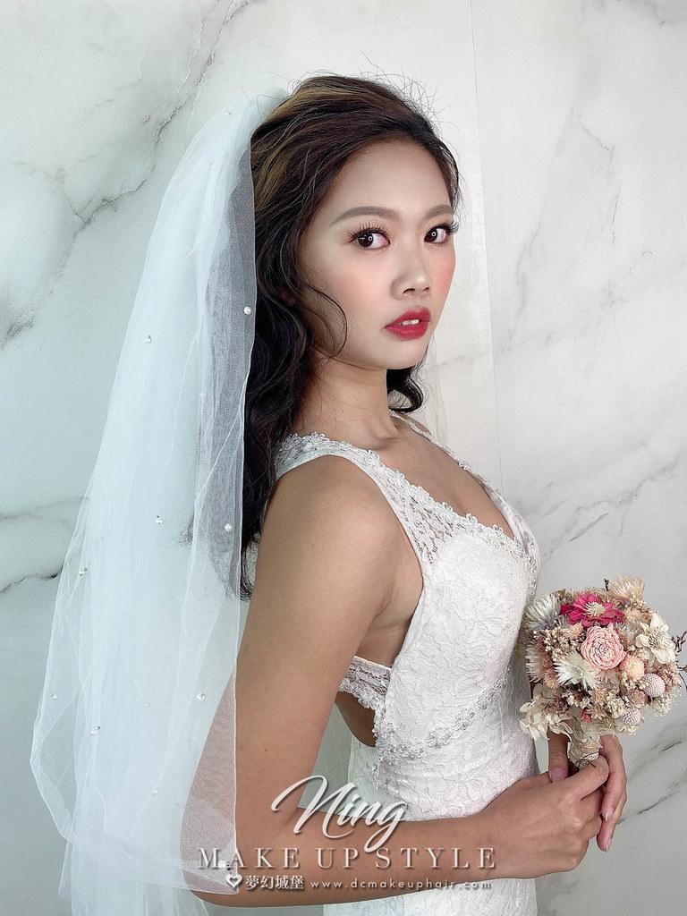 【新秘羽寧】新娘造型創作 / 頭紗公主頭