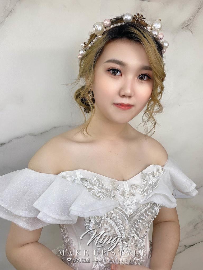 【新秘羽寧】新娘造型創作 / 甜美編織盤髮