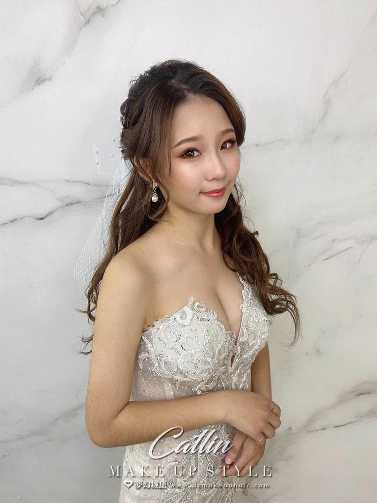【新秘Catlin】新娘造型創作 / 蝴蝶結少女風