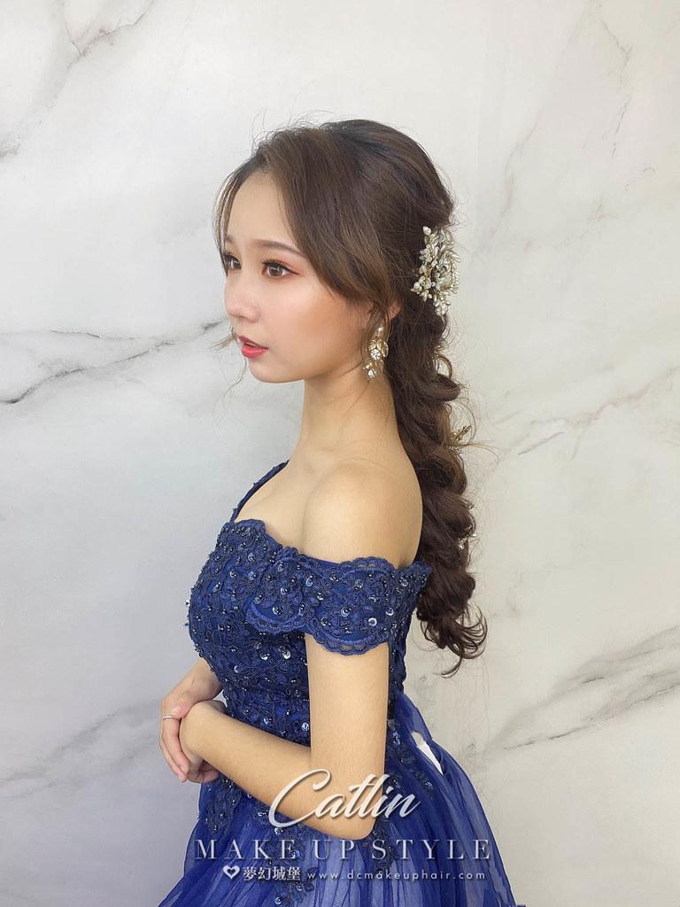 【新秘Catlin】新娘造型創作 / 公主編髮造型