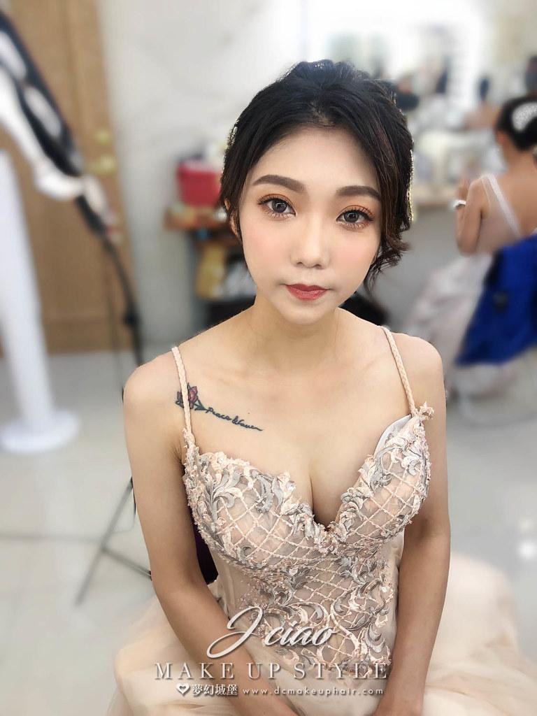 【新秘婕喬】新娘造型創作 / 韓系盤髮