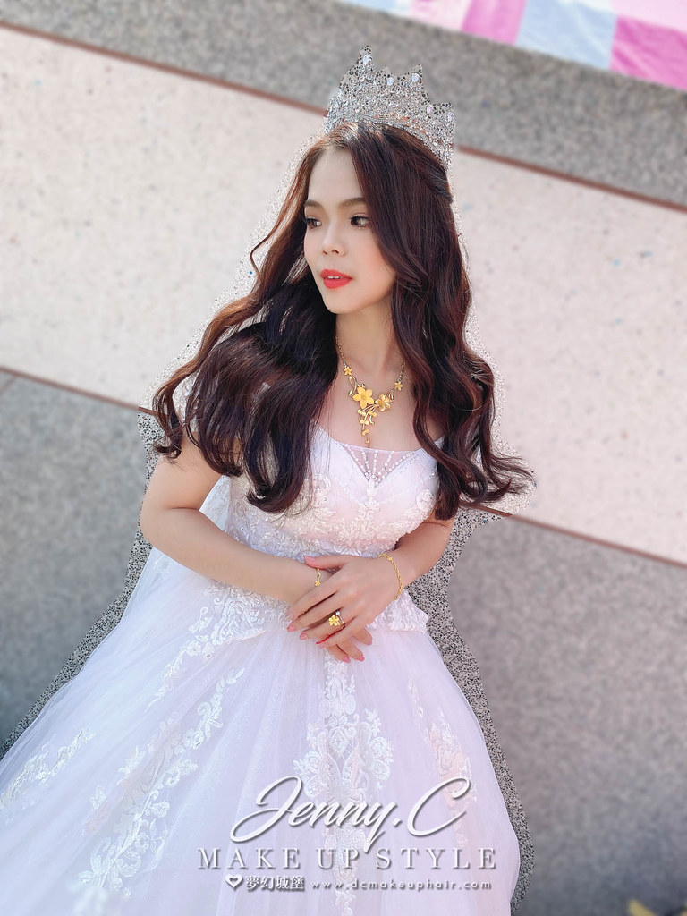 【新秘蓁妮】bride 杰宇 訂結婚造型 / 龍鳳掛,自然甜美