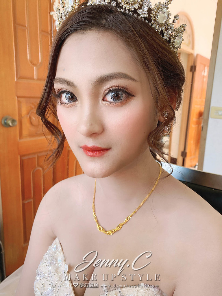 【新秘蓁妮】bride 佳珣 歸寧造型 / 甜美韓系風