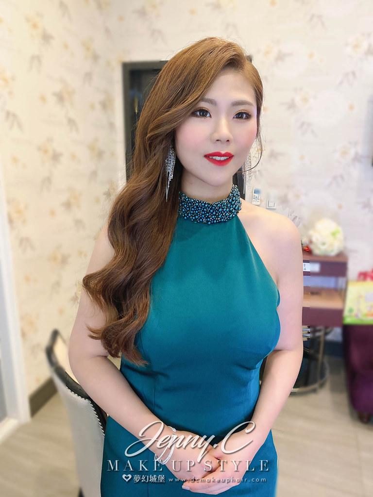 【新秘蓁妮】bride 昭儀 結婚造型 / 韓系仙氣,華麗公主