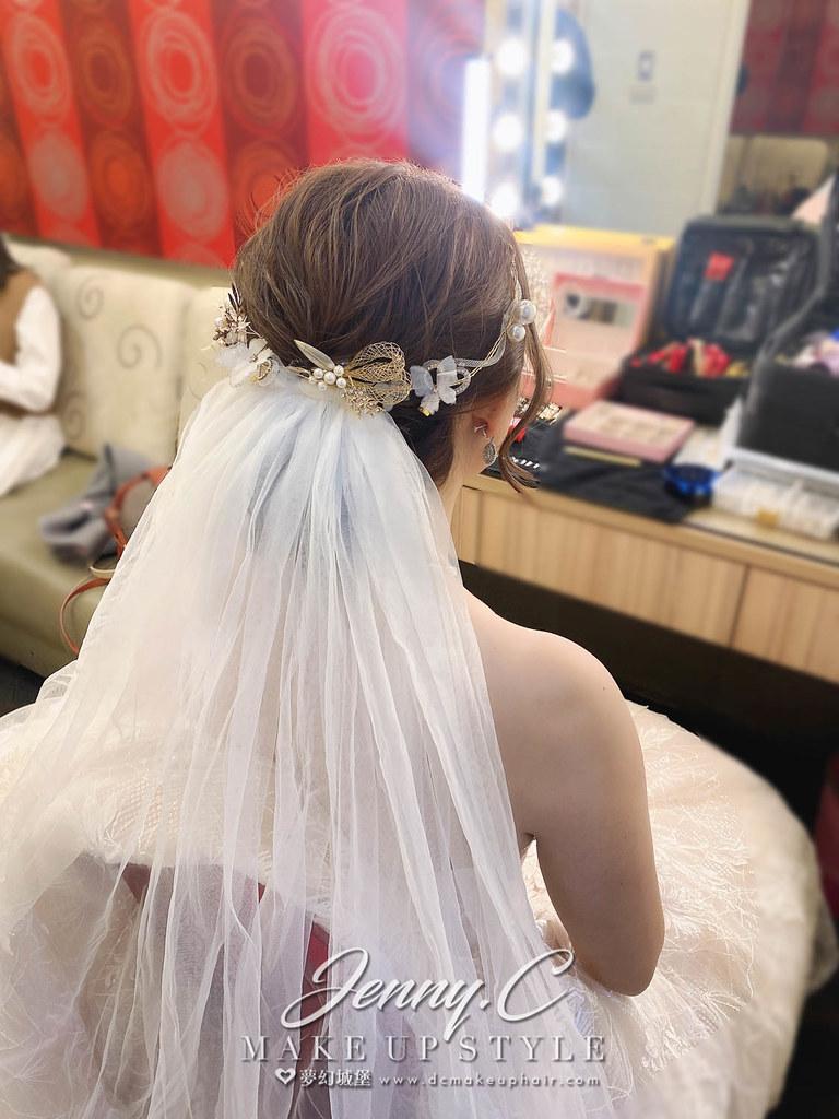 【新秘蓁妮】bride 靜琳 結婚造型 / 韓系甜美