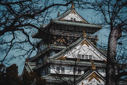 Japan_Osaka_大阪城公園