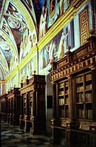 Biblioteca, Monasterio de El Escorial