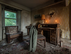 Featherstone House Abandoned in Scotland