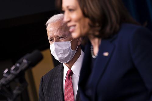 Biden and Harris, From FlickrPhotos