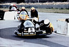 Croft '81.  Frank Wrathall and Phil Spendlove followed by Glyn Jacobs and Phil Bolton on the beautiful Trident outfit.  **