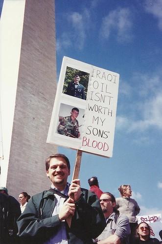 March 2003 Iraq War Protest