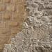 Stonework in Manfredonia Castle. Manfredonia, Puglia, southeast Italy