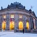 Das Bode-Museum im Winter