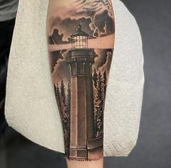 Chris Holbert - Black 13 Tattoo