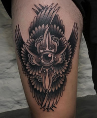 Daniel Hughes - Black 13 Tattoo