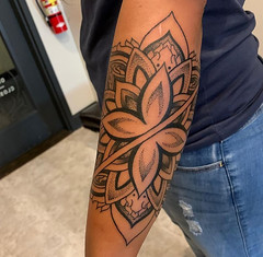 Nathan Fisher - Black 13 Tattoo
