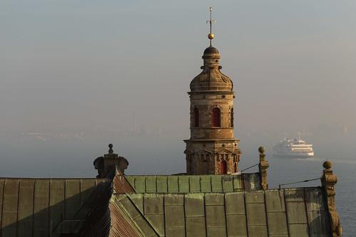 Sweeden as seen from Kronborg Castle