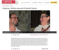 Armelle Vautrin et Stéphane Berrone