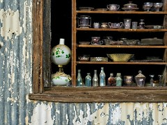 Antique Store Window 8972 A