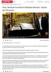 Roseline Courtial et Stéphane Berrone