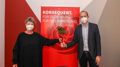Mit 96,5% der abgegebenen Stimmen hat mich die SPD erneut zum Bundestagskandidaten gewählt - vielen Dank!