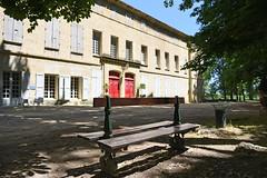 parc du château de Laverune
