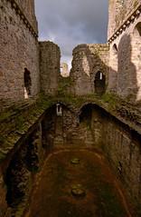 Photo of Middleham Castle East Basement Overview