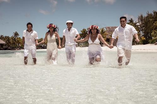 De Guzman Family - Bora Bora